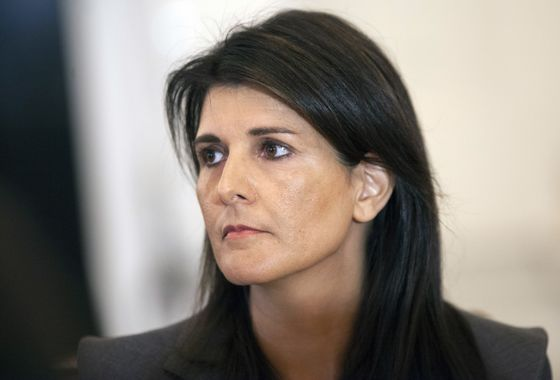 Nikki Haley to Leave as UN Envoy at Year's End in Surprise Exit
