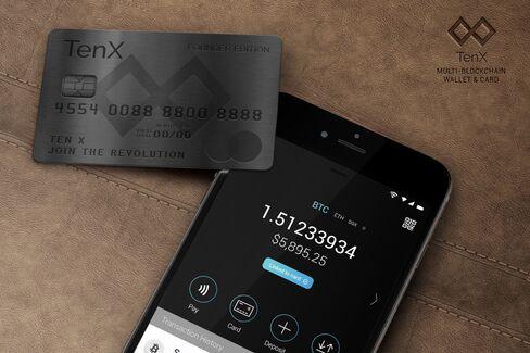 テンXのデビットカード