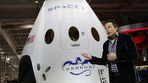 SpaceX CEO Elon Musk