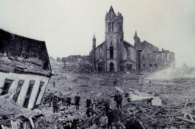 The 1900 Galveston Hurricane Category 4
