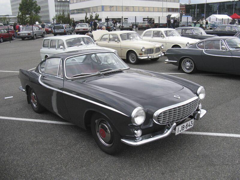 Vintage Car Volvo P1800 Bloomberg 09