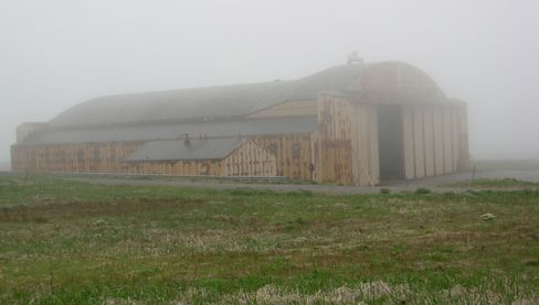 Many of the abandoned buildings around the station have become untenable against the saltwater air and the harsh, blowing winds. (Air Force file photo)