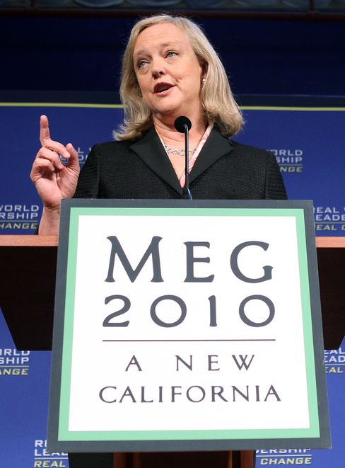 Republican Candidate for Governor Meg Whitman