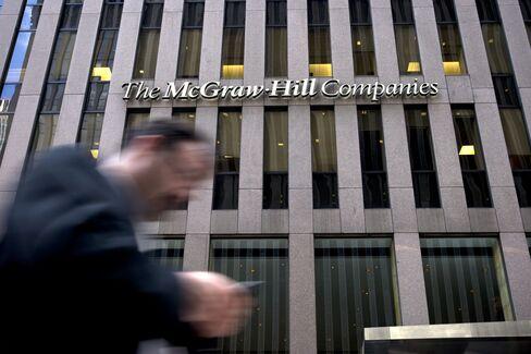 McGraw-Hill Chief Bows to Break-Up Pressure