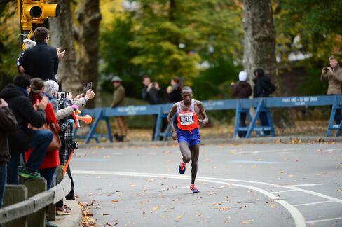 NY Marathon Winner Geoffrey Mutai