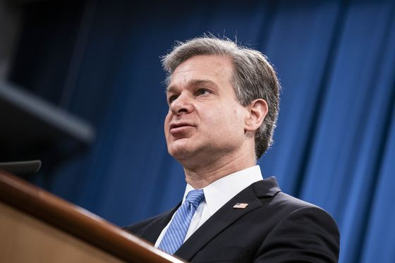 Wray Dismisses Theory Left-Wing Groups Had Role in Capitol Riot