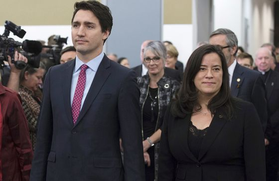 SNC Scandal Splits Trudeau's Team and Bruises His Winning Brand