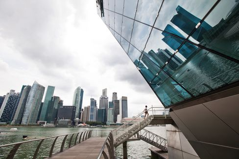 ANZ Sees Singapore REITs Weathering Rate Storm