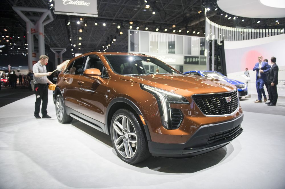 Cadillac Xt4 Photographer Michael Le Jr Bloomberg