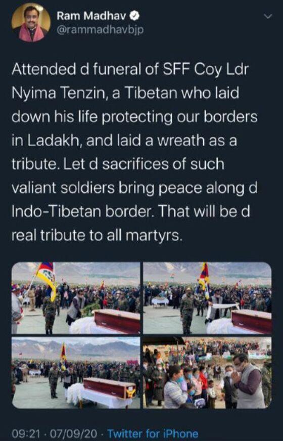 Secret Tibetan Military Force Raises Stakes in India-China Clash
