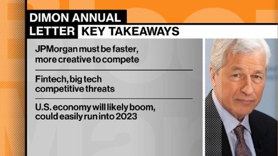 JPMorgan's Dimon Says 'This Boom Could Easily Run Into 2023'