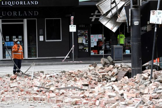 Biggest Quake in 5 Years Causes Damage In Australia's Melbourne