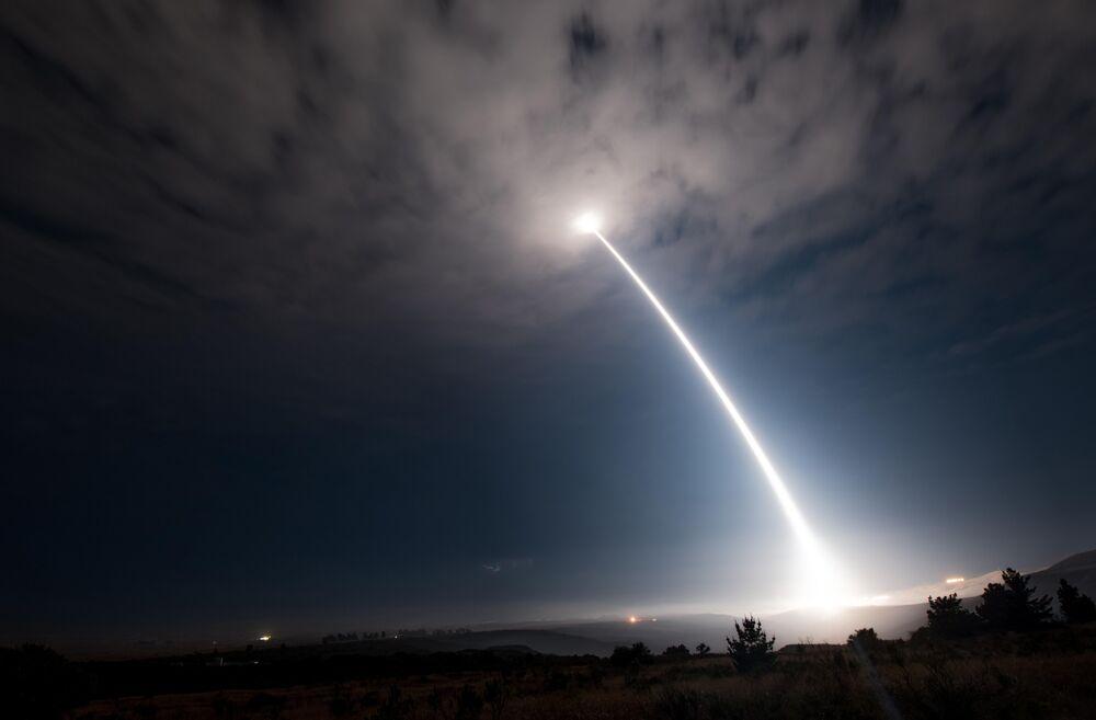 Lançamento de um míssil Minuteman III