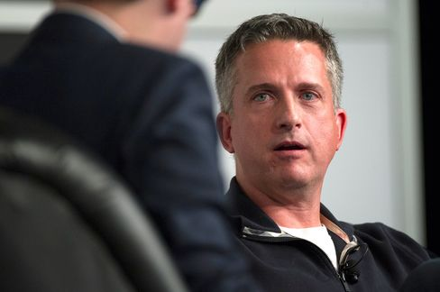 Bill Simmons speaks during a panel discussion at the South By Southwest (SXSW) Interactive Festival in Austin, Texas, on March 8, 2014.