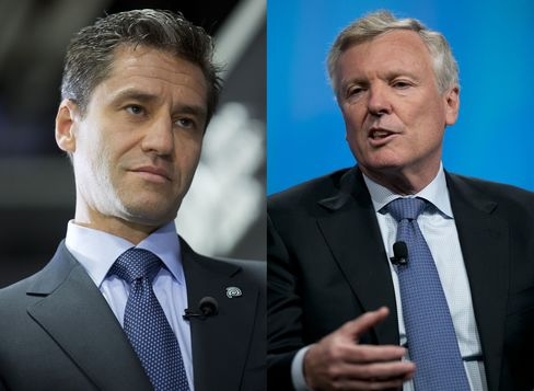 Time Warner CEO Rob Marcus And Charter CEO Tom Rutledge