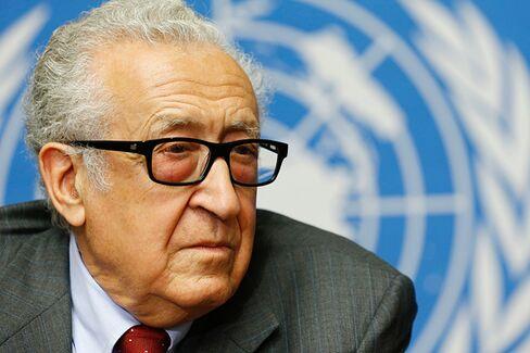 Charlie Rose Talks to Lakhdar Brahimi