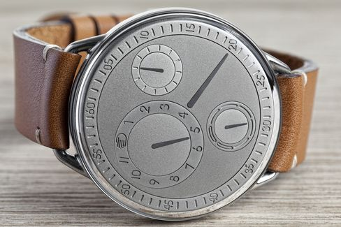 The Type 1 Genesis was created to celebrate Ressence's fifth anniversary.