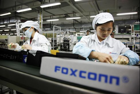 Foxconn Says Its China Workforce Exceeds 1 Million