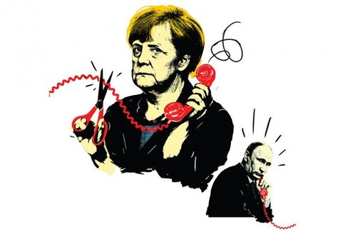 Germany's Merkel Gets Tough on Russia