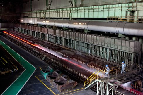 Baoshan Steel Halts Production at China Factory as Demand Drops