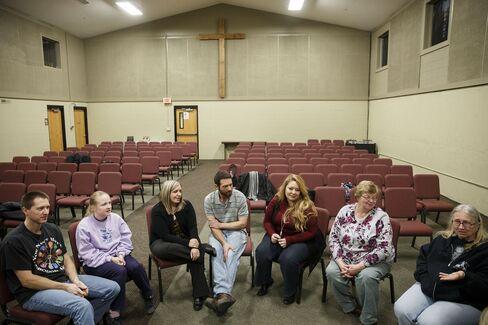 Church members speak about their political views.