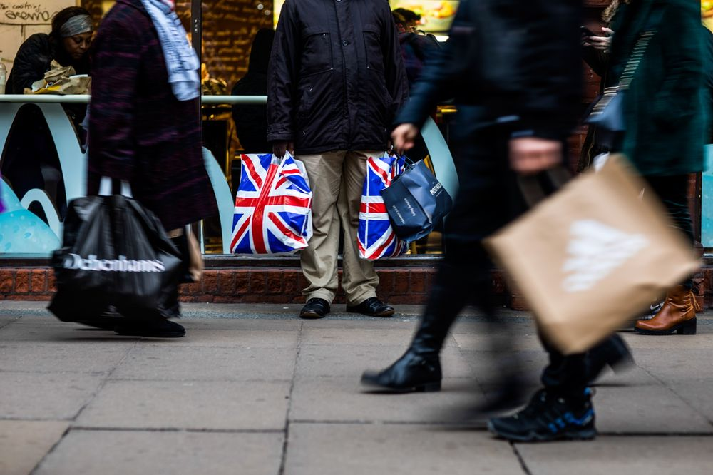 Image result for U.K. Retail Sales Jump As Discounts Spur Spending on Clothing