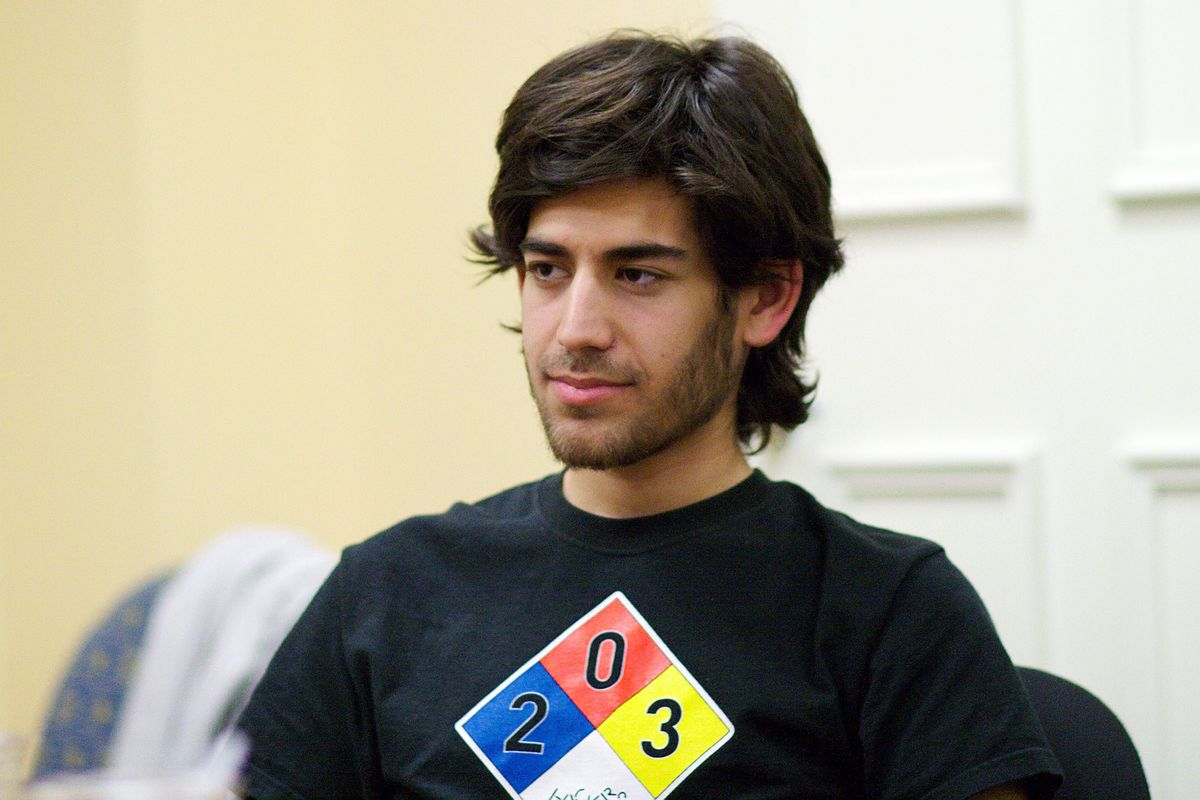 a discussion on intellectual property and the unethical actions of aaron swartz