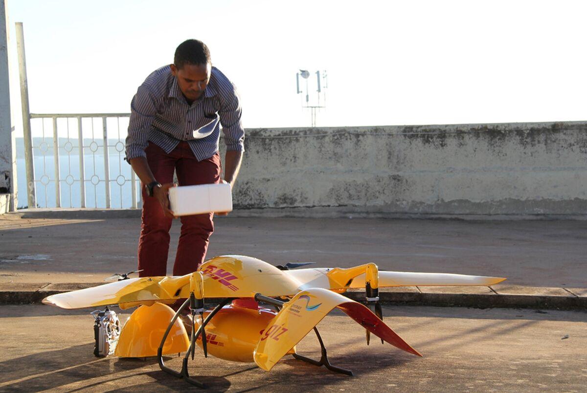 Life-Saving Drones Fly Medicine to Tanzania's Remotest Spots