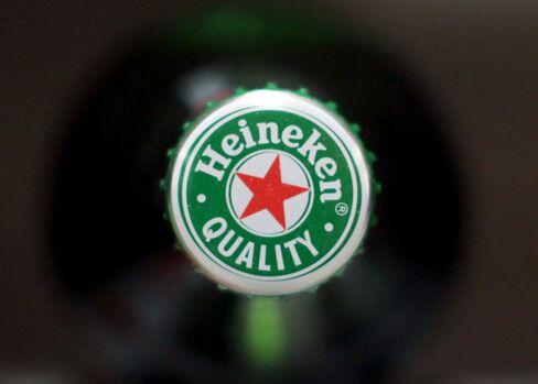 Heineken Reports Sales That Miss Estimates as Europe Wanes