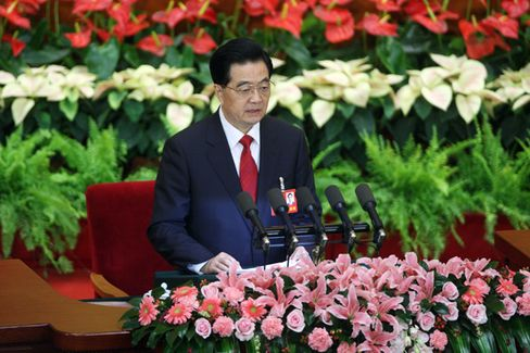 Hu???s Goal for China: Double Incomes by 2020