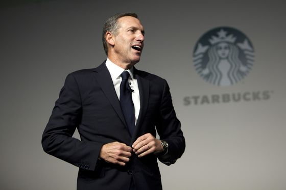 Starbucks' Schultz Hints Political Career May Be Brewing