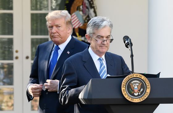 Trump Says He 'Maybe' Regrets Putting Powell Atop the Fed