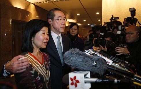 Former Hong Kong Chief Secretary Henry Tang
