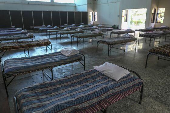 Mumbai Prepares For Virus Peak With Beds in Parks to Planetarium