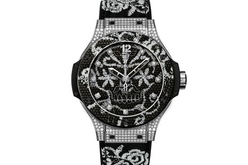 This watch is quintessentially Hublot, and the attention to detail is astounding.