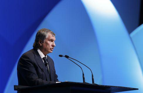 Rosneft OAO Chief Executive Officer Igor Sechin