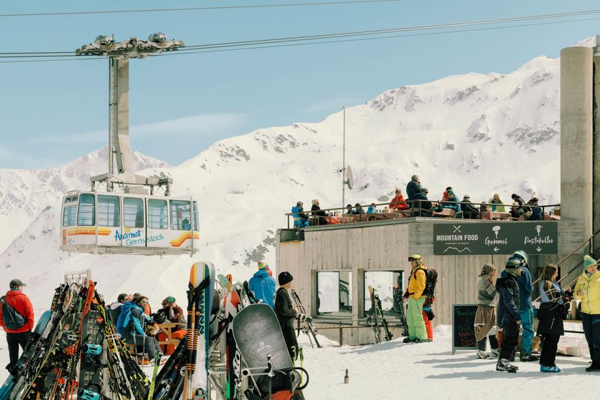 relates to An Egyptian Billionaire Resurrected This Swiss Skiers' Paradise