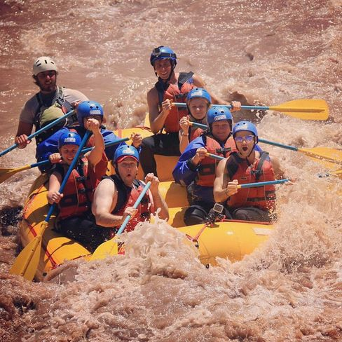 """""""Rafting the Andes Mountain rivers of Potrerillos #snowmelt"""""""