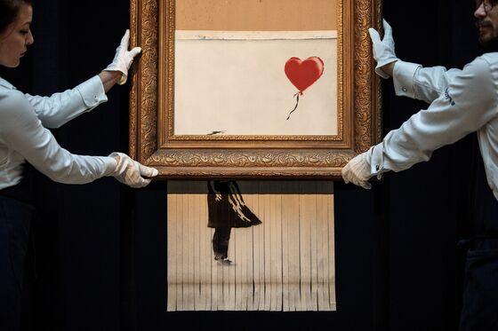 Banksy's Secret to Increasinga Painting's Value? Destroy It