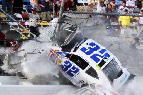 Daytona Speedway Makes Repairs After Crash That Injures 28 Fans