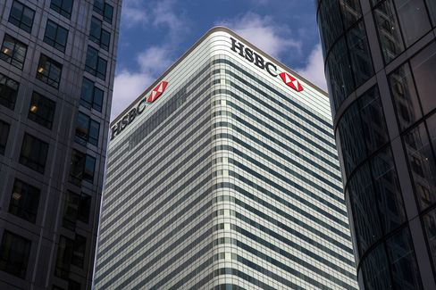 HSBC Holdings Plc As Bank Considers Uprooting Its Headquarters
