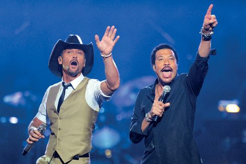 Lionel Richie Finds Some Country Comfort