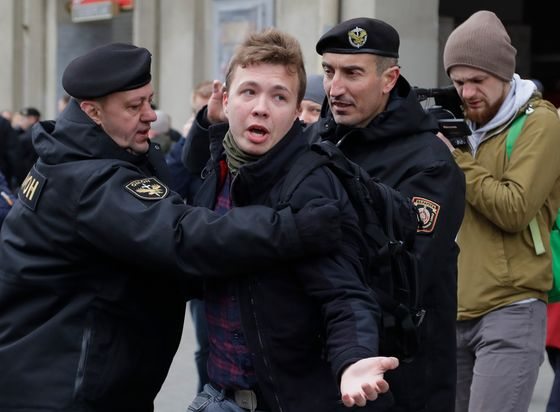 How Belarus Snatched a Dissident Off a Ryanair Plane From Greece
