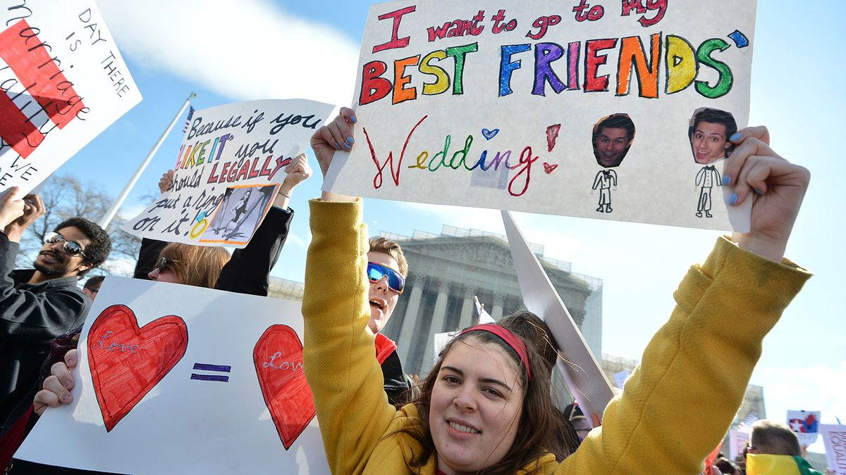 Texas Officials Rally Against Gay Marriage