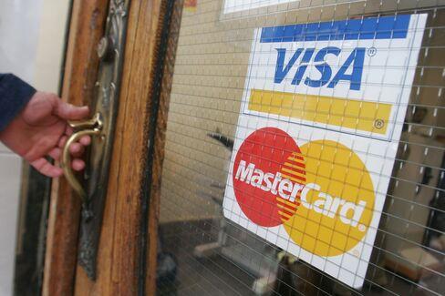 Visa Beats JPMorgan as Cards Wage War on Cash