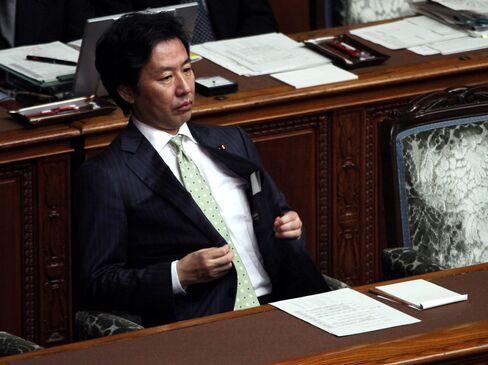 Japanese Finance Minister Jun Azumi
