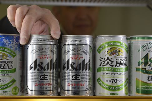 Asahi Sues Buyout Firms Over $1.3 Billion Independent Takeover