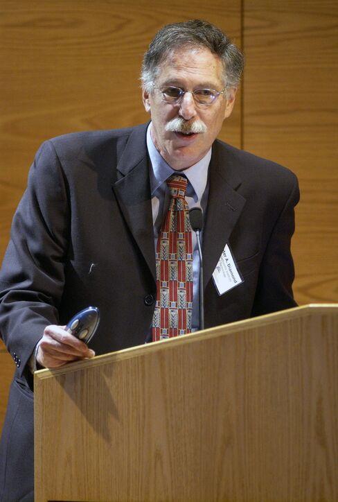 Peter Diamond of the Massachusetts Institute of Technology