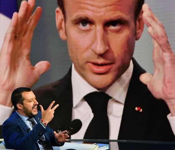 Italy's Populists Make France Their Nemesis in Fight for Europe's Votes