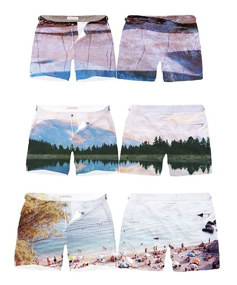 Photographic shorts from Orlebar Brown